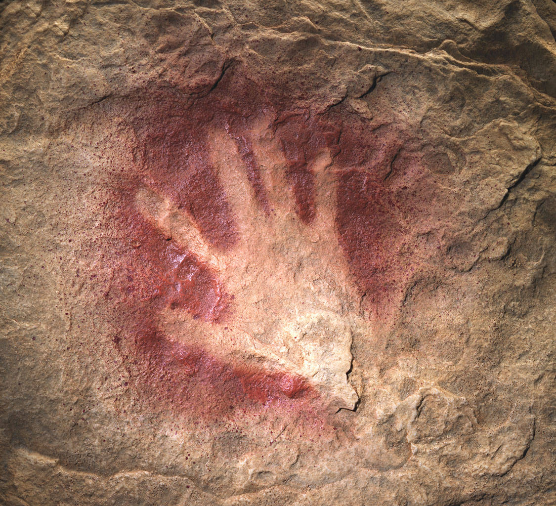 Classic Man Cave Art : Year old cave paintings thought objects